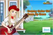 吉它可爱美女...