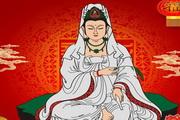 佛教观音菩萨图片psd素材
