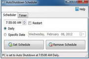 AutoShutdown Scheduler 1.2.1