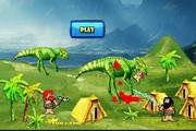 原始人防御恐龙2...
