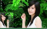 PCTheme清纯甜美女生xp主题