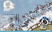 PCTheme可爱卡通熊猫约会xp主题 1.6.0.3