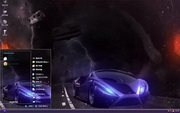 PCTheme炫酷超级跑车xp主题 1.6.0.3