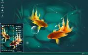 PCTheme美丽的金鱼xp主题 1.6.0.3