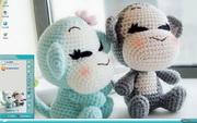 PCTheme毛绒猴子情侣可爱桌面xp主题 1.6.0.3