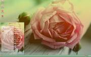 PCTheme浪漫玫瑰花花语xp主题 1.6.0.3