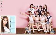 PCTheme韩国T-ara组合美女xp主题 1.6.0.3