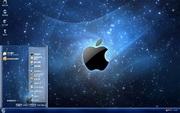 PCTheme星空苹果系统桌面xp主题 1.6.0.3