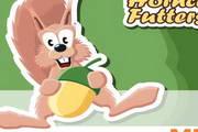 松鼠宝宝摘鲜果