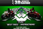 3D摩托车比赛...