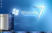 海蓝仿win7电脑主题包