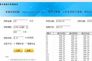天乐商业贷款计算器2016 1.0
