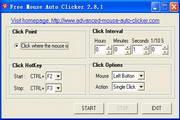 Free Mouse Auto Clicker 3.7