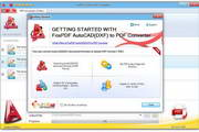 AutoCAD DXF转换成PDF转换器 3.0