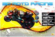 3D摩托比赛