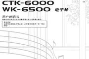 CASIO 电子乐器CTK-6000/WK-6500说明书