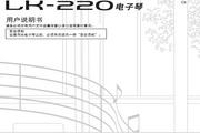 CASIO 电子乐器LK-220说明书