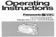 松下 AG-DP800H 说明书