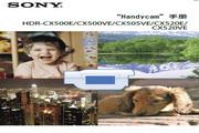 SONY索尼 HDR-CX520E 说明书