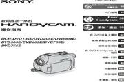 SONY索尼 DCR-DVD705E 说明书
