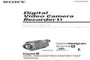 SONY索尼 DCR-TRV740 说明书