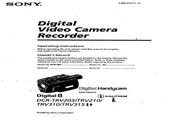SONY索尼 DCR-TRV203 说明书