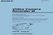 <p>SONY索尼 CCD-TRV30 说明书</p>