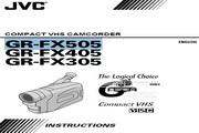 JVC GR-FX505 说明书