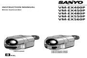 三洋 VM-EX560P 说明书