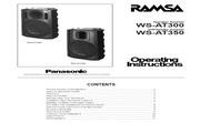 Panasonic 松下 WS-AT300 使用说明书
