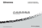 Hisense 海信 LED32T36X3D 说明书