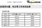 惠而浦XA700V说明书