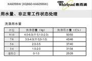 惠而浦XA609BW说明书