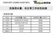 惠而浦XA601BW说明书