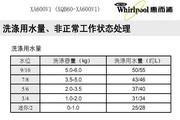惠而浦XA600V1说明书