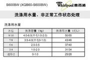惠而浦S600BW说明书
