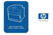 惠普Color LaserJet 5550使用说明书