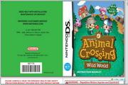 任天堂 Animal Crossing: Wild World说明书