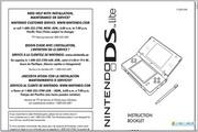 任天堂 Nintendo DS Lite Operations Manual说明书
