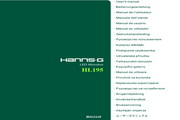 瀚视奇HL195ABB液晶显示器使用手册<strong></strong>