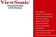 优派VA702/702B液晶显示器简体中文版说明书