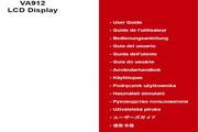 优派VA912液晶显示器简体中文版说明书
