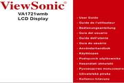 优派VA1721WMB液晶显示器简体中文版说明书