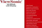优派VA1903WB液晶显示器简体中文版说明书
