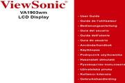 优派VA1903WM液晶显示器简体中文版说明书