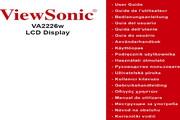 优派VA2226W液晶显示器简体中文版说明书