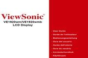 优派VE1920WM/1920WMB液晶显示器简体中文版说明书