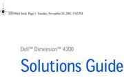 <i>戴尔</i>Dimension 4300<i>说明书</i>