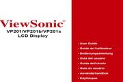 优派VP201液晶显示器简体中文版说明书