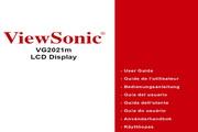 优派VG2021M液晶显示器简体中文版说明书